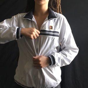 Vintage white NIKE sports jacket